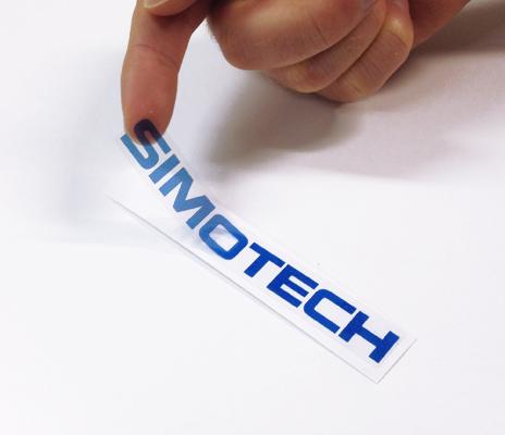 transparent stickers